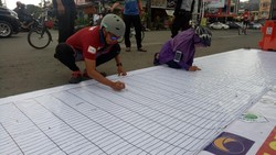 50 Ribu Warga Bubuhkan Tanda Tangan Pilkada Damai di Sulsel