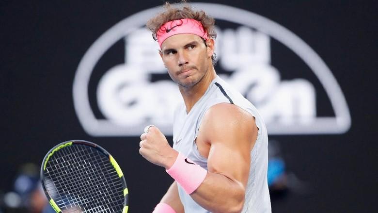 Nadal Enggan Pikirkan Rekor Grand Slam Federer