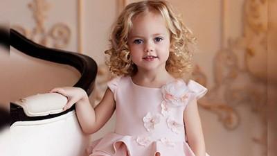Cantiknya Gadis Cilik Ini, Seperti Boneka Hidup Lho