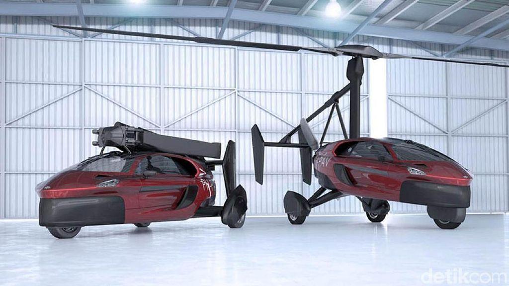 Mobil Terbang Sudah Bisa Dipesan, Siapkan Duit Rp 5 Miliar