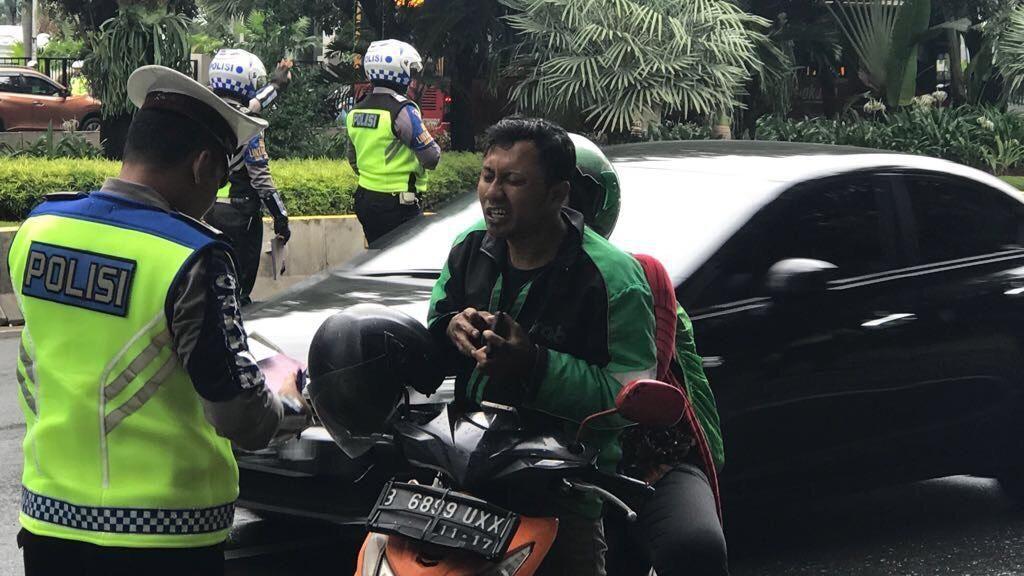 Tidak Lewat Jalur Khusus Motor di Thamrin, Siap-siap Kena Rp 500 Ribu