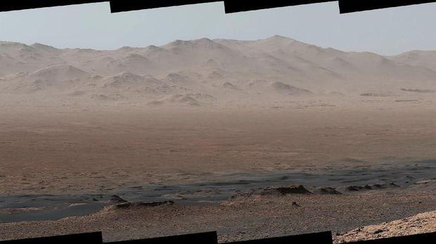 Menakjubkan, Seperti Ini Pemandangan di Mars