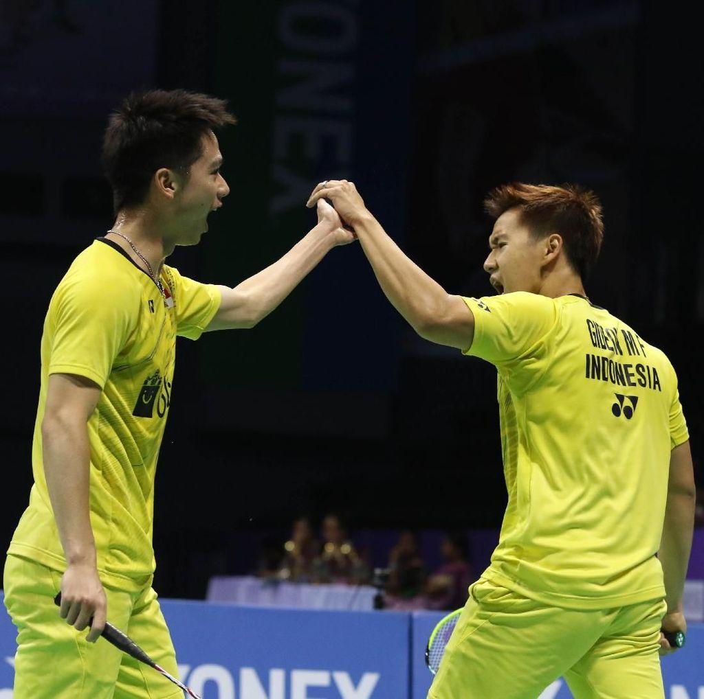 Kandaskan Ganda Taiwan, Kevin/Marcus Jejak Semifinal