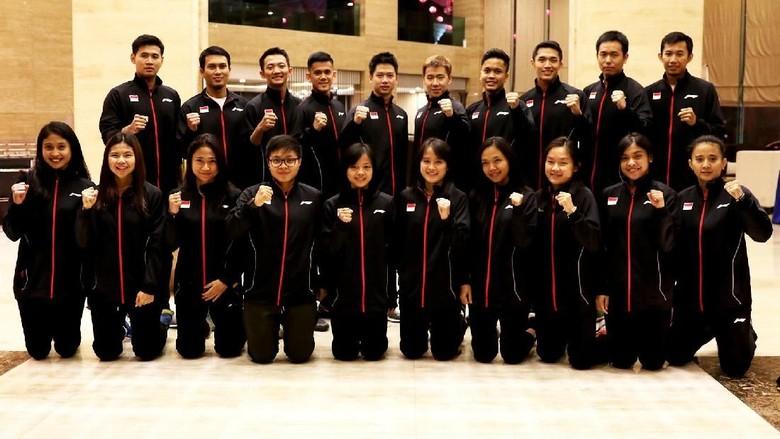 Tim Indonesia Siap Tempur di Kejuaraan Bulutangkis Beregu Asia