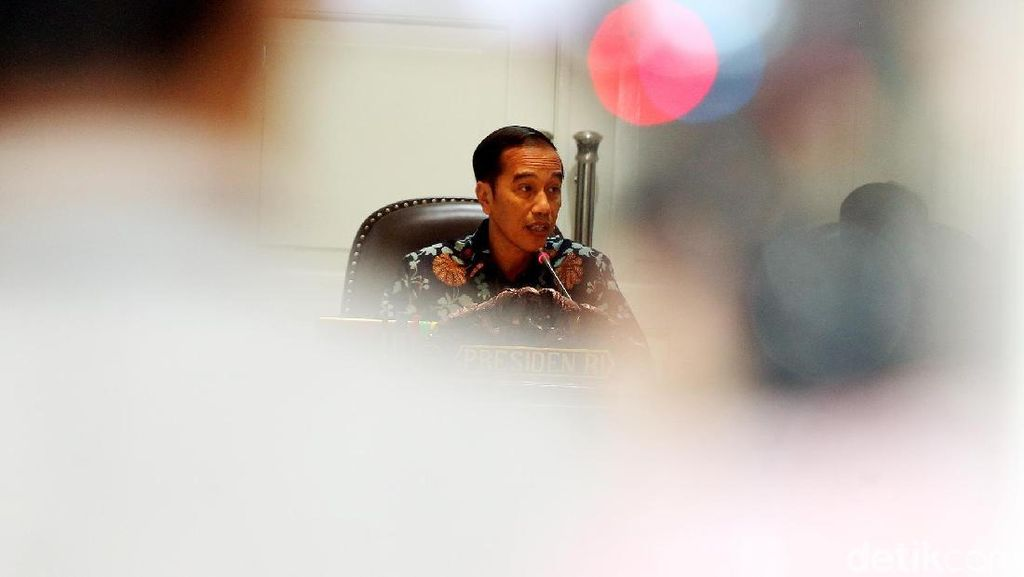Usai Makan Siang Bareng JK, Jokowi: Pertumbuhan Ditingkatkan Lagi