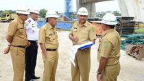 Sempat Mangkrak, Proyek Jembatan Siak Sepanjang 834 Meter Dilanjutkan