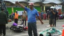 Truk Kontainer Tabrak Bikers di Mojokerto, Dua Orang Tewas