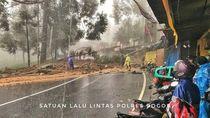 Dilewati Alat Berat yang Evakuasi Longsor Puncak, Jagorawi Ditutup