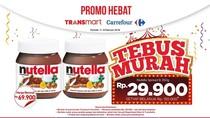 Tebus Murah Nutella di Awal Minggu Transmart Carrefour