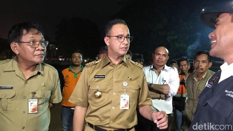 Anies Ingin Sungai di Jakarta Dinaturalisasi