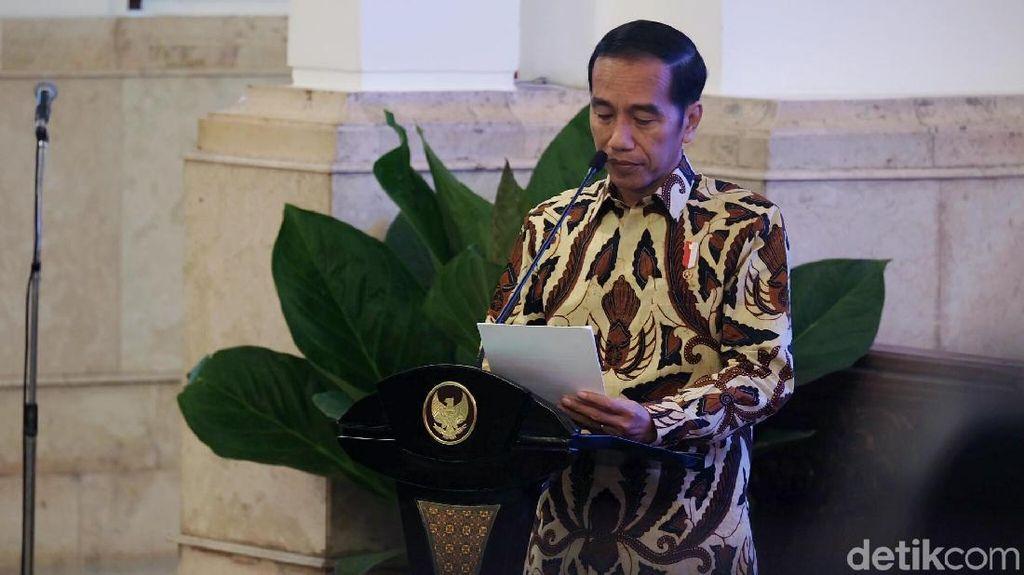 Jokowi: RI Negara Besar, Booth Pameran Jangan Dekat Toilet