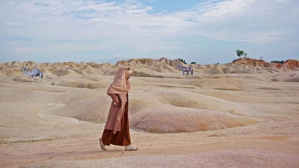 Bukan di Timur Tengah, Ini Gurun Pasir di Bintan