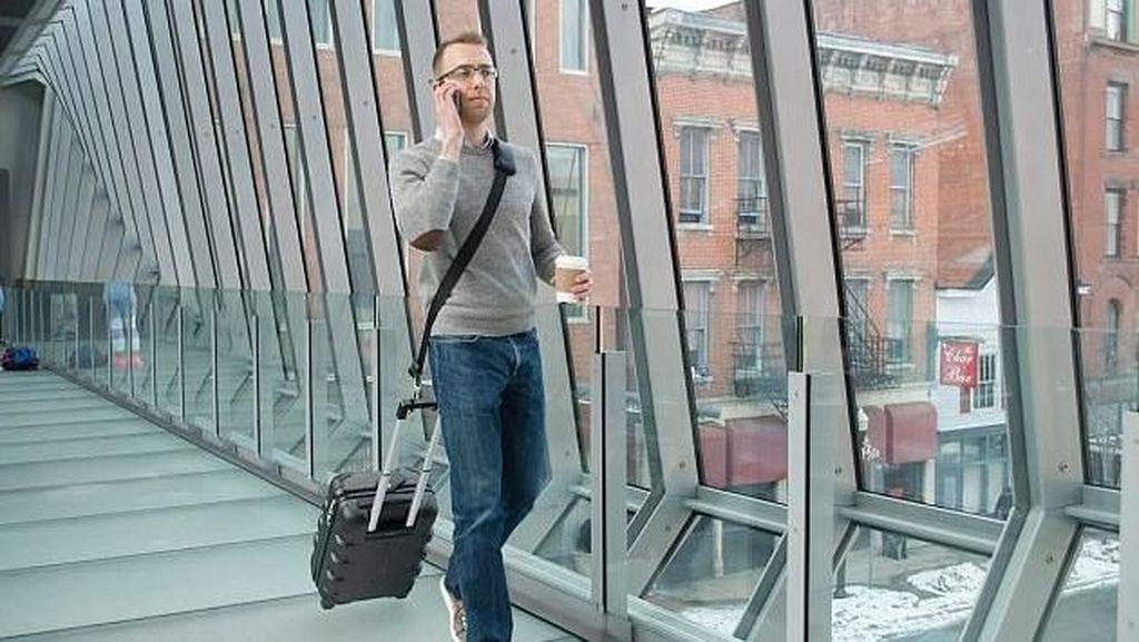 Bosan Bawa Koper, Pria Ini Bikin Inovasi Untuk Traveling