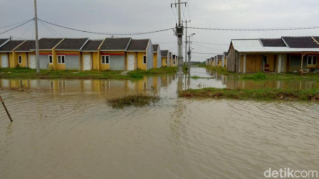 Rumah DP 1% Jokowi Sebelum dan Sesudah Banjir