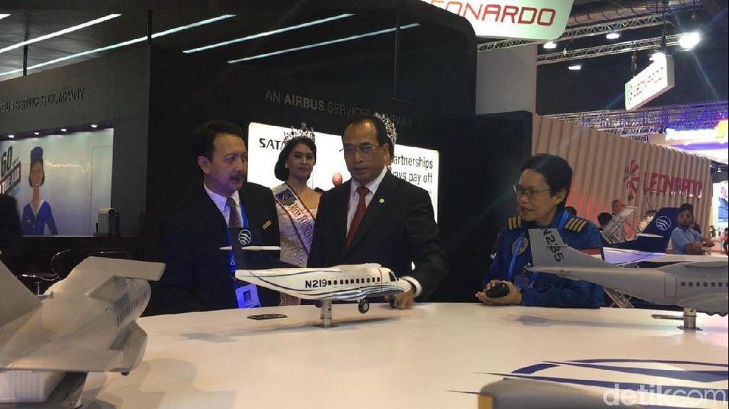 PTDI Jualan N219 di Singapore Airshow, Menhub: Kandungan Lokal 60%