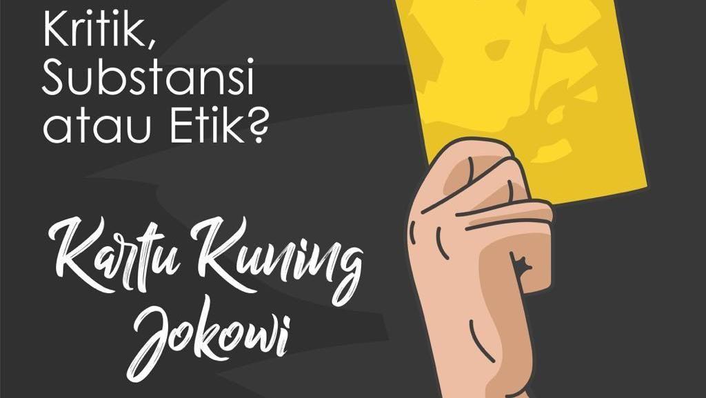 Apa Pendapatmu Soal Kartu Kuning untuk Jokowi? Ikuti Polling detikforum