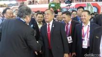Kunjungi Singapore Airshow 2018, Menhan Sambangi Stan PTDI