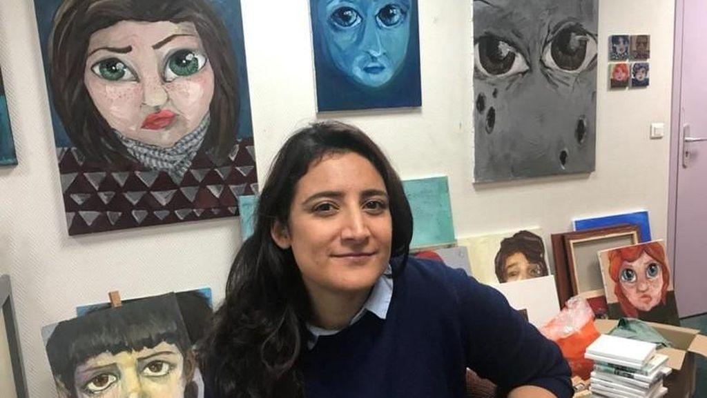 Seniman Suriah Gelar Pameran Seni di Prancis untuk Pertama Kalinya
