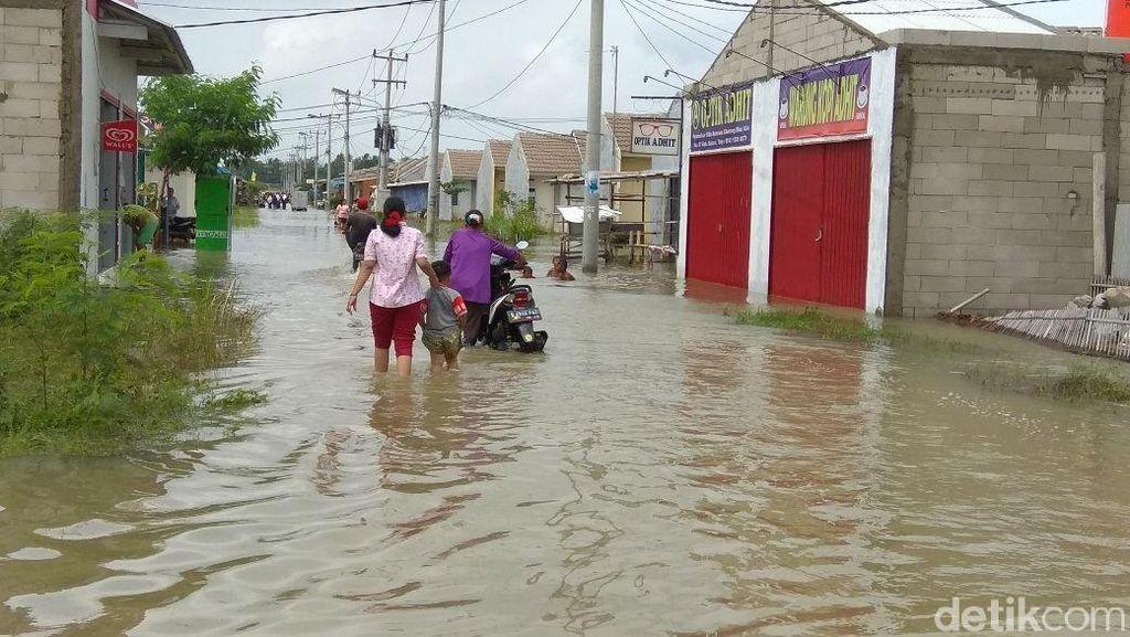 Warga Rumah DP 1% Jokowi: Banjir Kali Ini Terparah