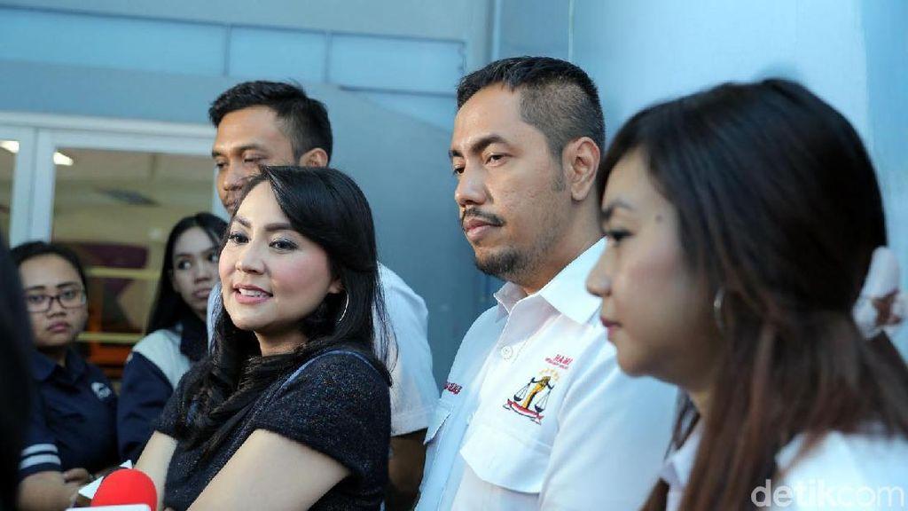 Datangi KPAI, Tessa Kaunang Ngadu Soal Hak Asuh Anak