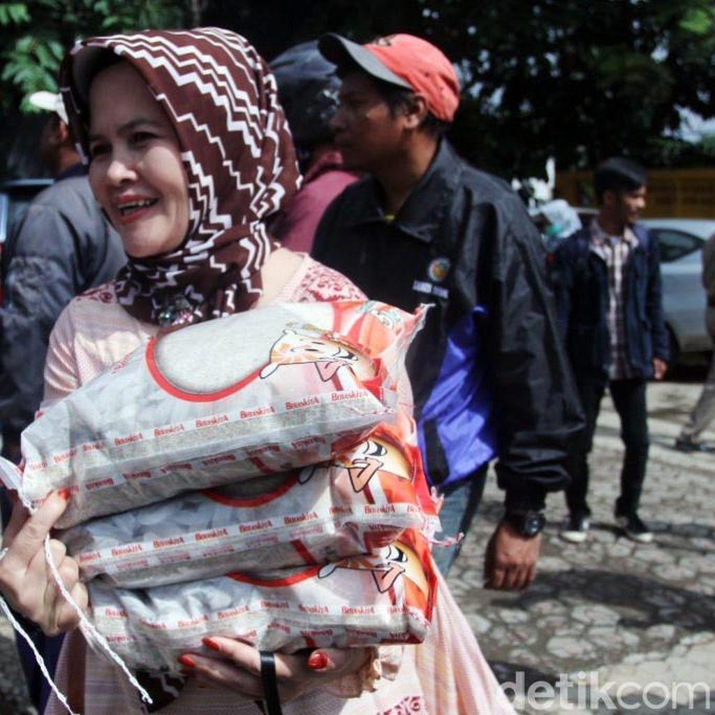 Komponen Bantuan Pangan Dikurangi, Pemerintah: Kuantitas Lebih Banyak