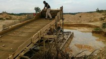 Ini Penampakan Tambang Emas Terlarang di Riau