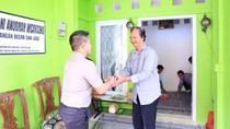 Polisi Silaturahmi ke Ortu Putri Korban Longsor Soekarno-Hatta