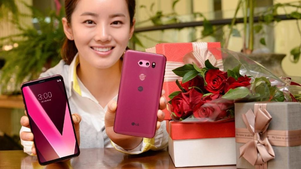 Unboxing Si Cantik LG V30 Plus Raspberry Rose