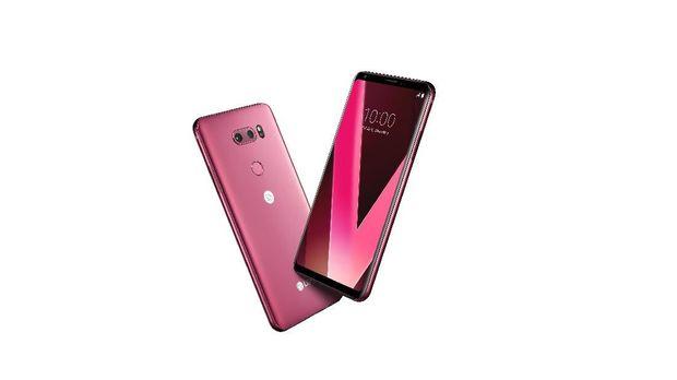 LG Pastikan V30 Plus Pink Hadir di Indonesia