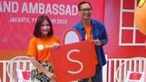 Gaet Millennial, Shopee Gandeng Prilly Latuconsina