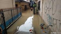 Sempat Surut, Daerah Kampung Melayu kembali Banjir