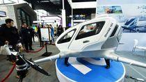 Drone Pertama yang Mampu Terbangkan Manusia