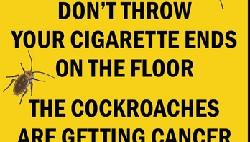 Kadang mengingatkan orang agar tidak merokok bisa juga lewat sindiran yang pada era digital saat ini berwujud meme di internet.