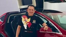 Bamsoet Beli Mobil Listrik Tesla untuk Ngantor