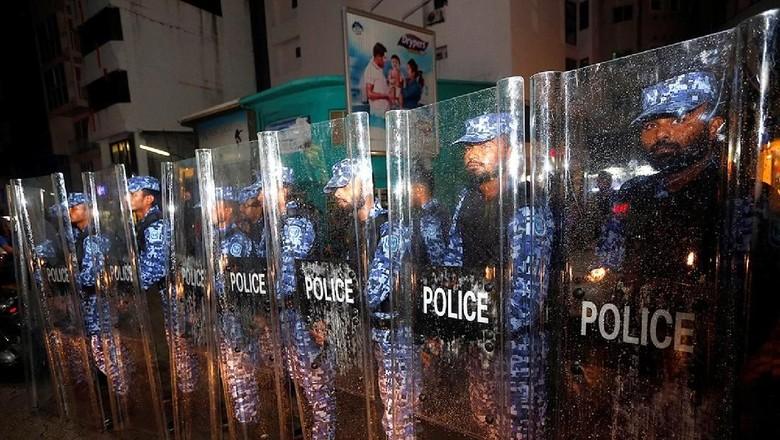 Foto: Situasi darurat Maldives (Reuters)