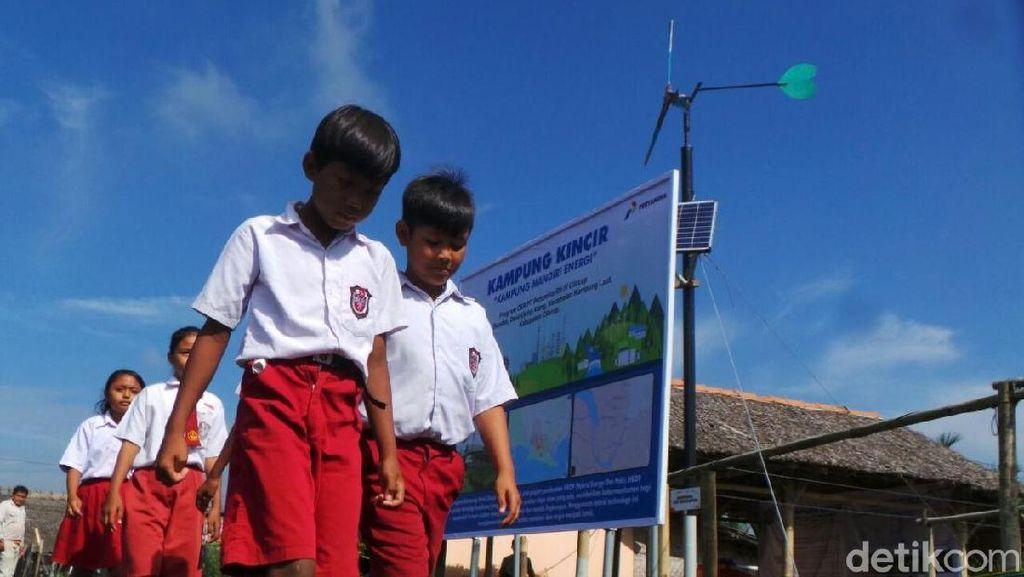 Bangun Kebun Angin Mini di Kampung Laut Butuh Rp 350 Juta