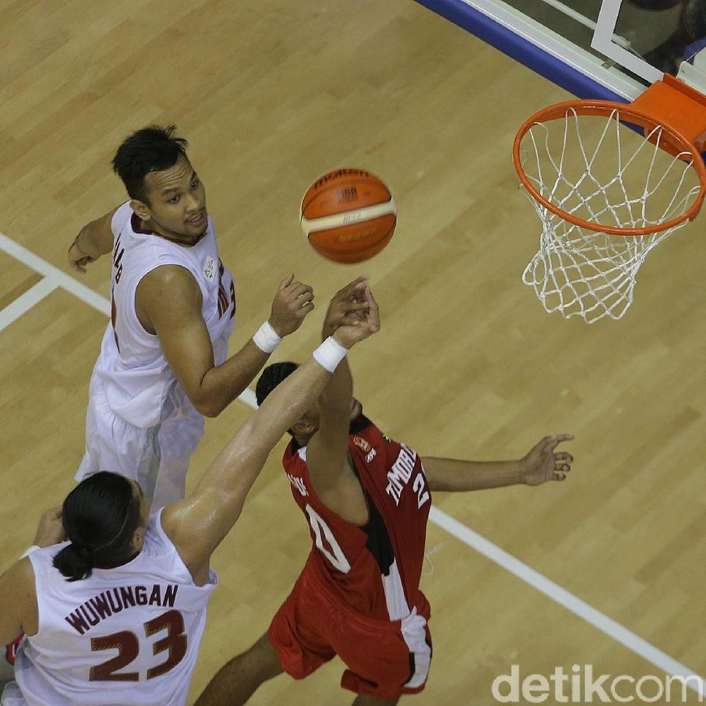 Tim Basket Indonesia Menang, Test Event Hari Ini Juga Dipuji