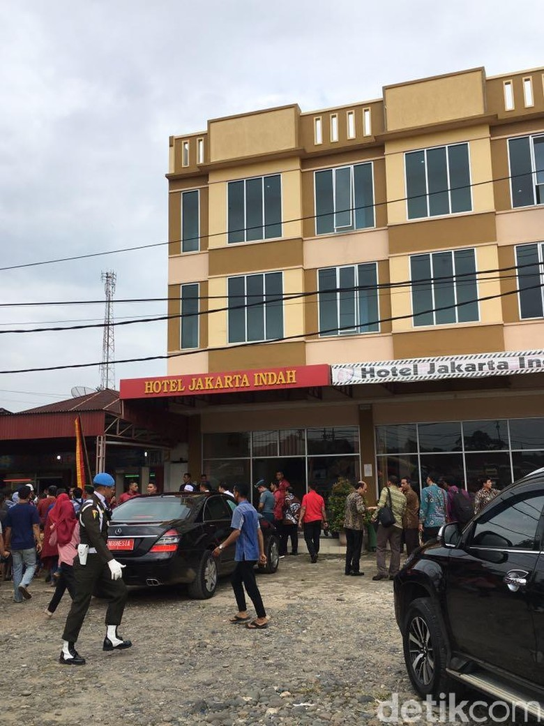 Foto: Hotel Rp 450 Ribu/Malam Tempat Jokowi Nginap di Dharmasraya
