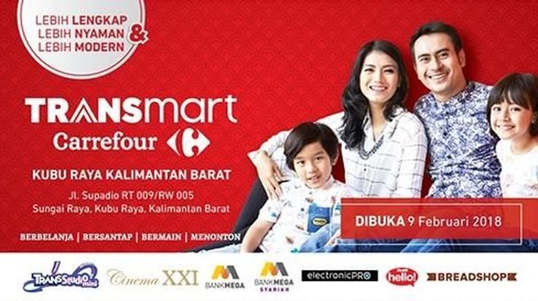 Transmart Carrefour Buka Gerai Baru Kedua di Kalbar Besok