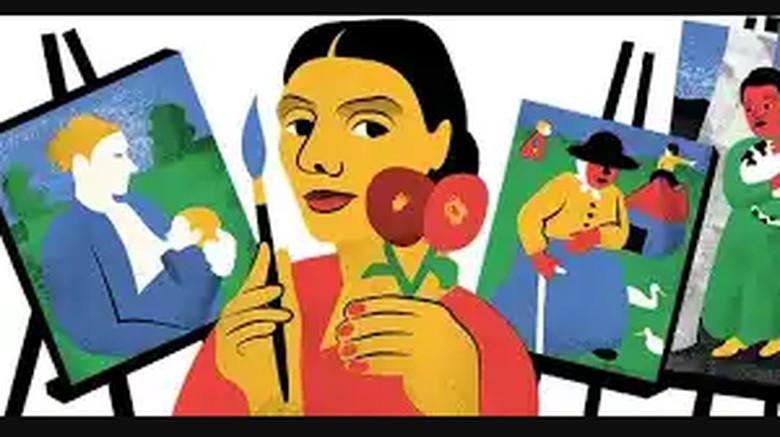 Google Doodle Hari Ini, Penghormatan pada Pelukis Jerman Paula Modershon-Becker