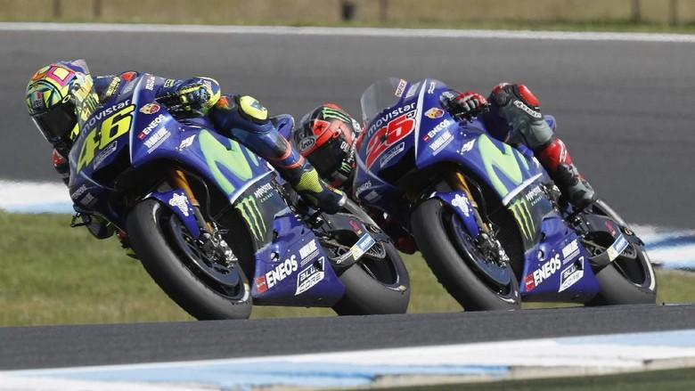 Stoner: Rossi-Vinales Juga Bertanggung Jawab atas Hasil Buruk Yamaha