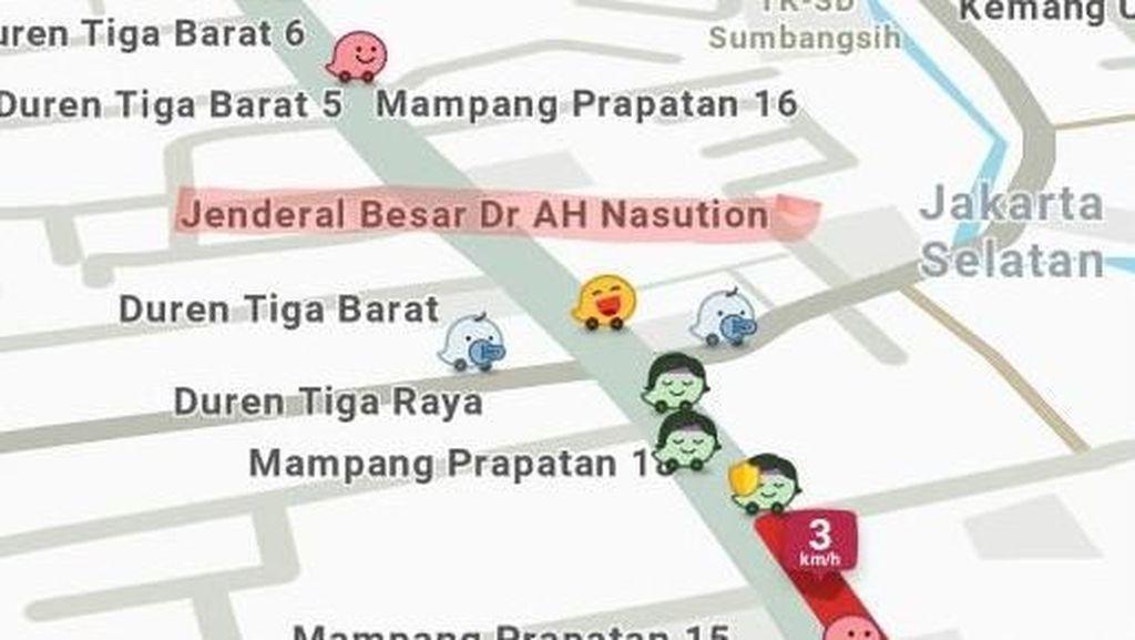 Jalan Buncit Sudah Ganti Nama di Peta Online, Ini Kata Sandi