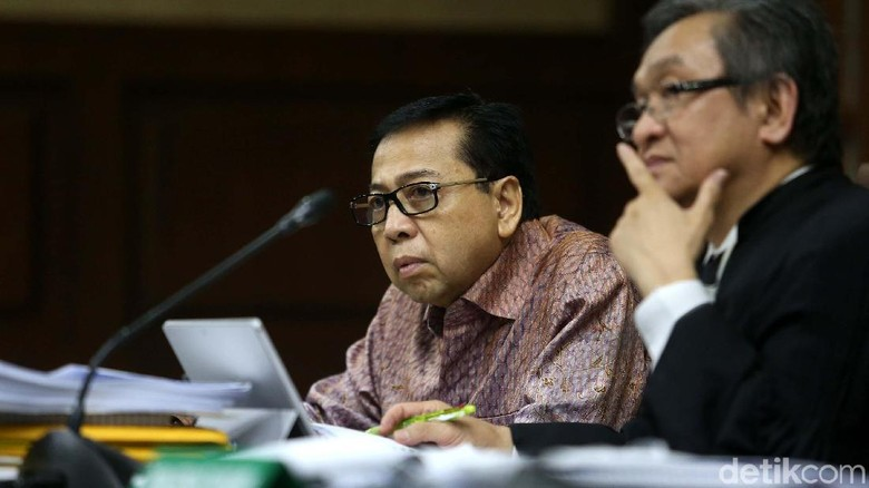 Novanto Akui Ada Aliran Duit dari Andi Narogong ke Komisi II DPR