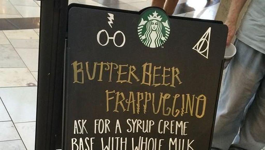 Ini Racikan Butterbeer Frappuccino dan Butterbeer Latte yang Terinspirasi Harry Potter