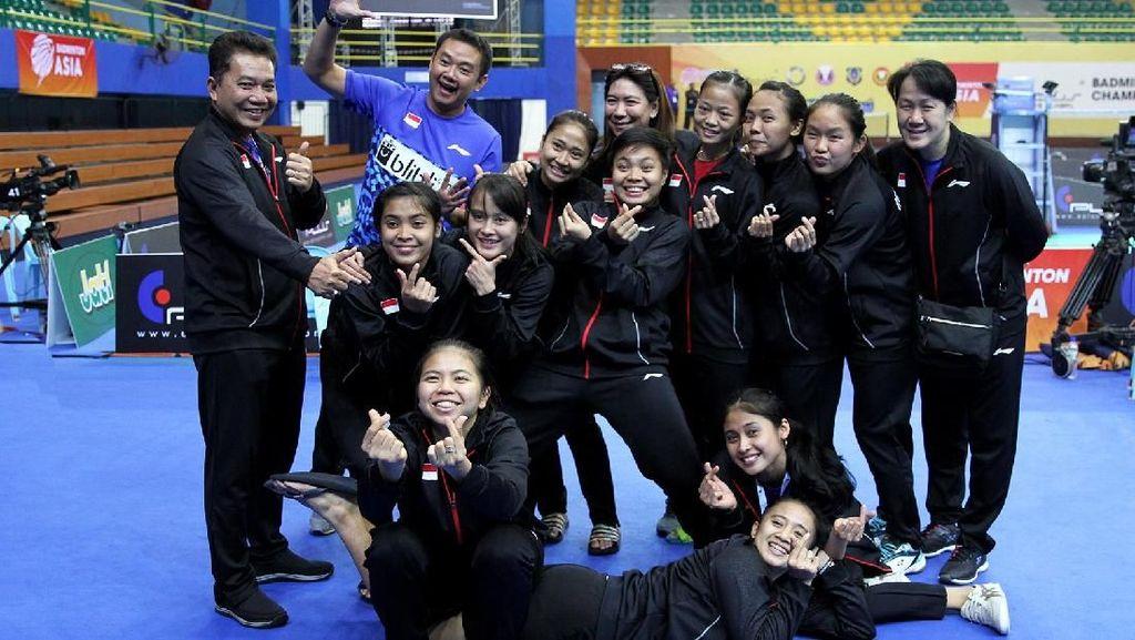 Setelah China, Kini Tim Putri Indonesia Singkirkan India