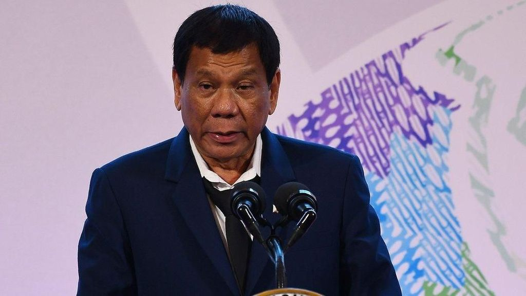 Duterte Bakal Tembak Langsung Pencuri Ikan di Laut Filipina
