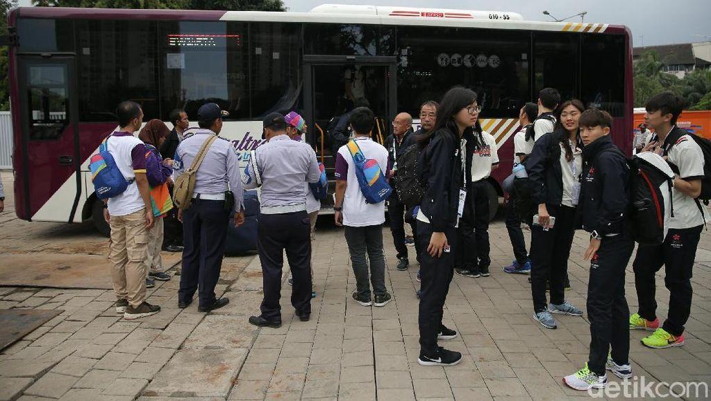 Masalah Transportasi Terkuak di Hari Pertama Test Event, INASGOC Godok Solusi