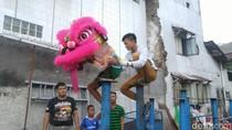 Mengintip Kerasnya Latihan Pemain Barongsai Jelang Imlek di Semarang