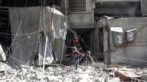 Potret Memprihatinkan Ghouta Timur Usai Digempur Rezim Assad