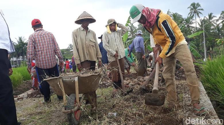 Pekerja Padat Karya Cash Jokowi di Sumbar Dapat Rp 130.000/Hari